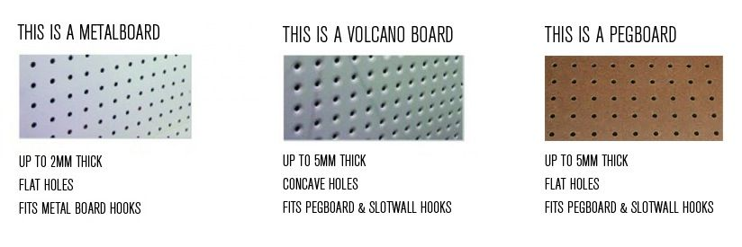 Pegboard is a brand name, which is used to describe perforated ...