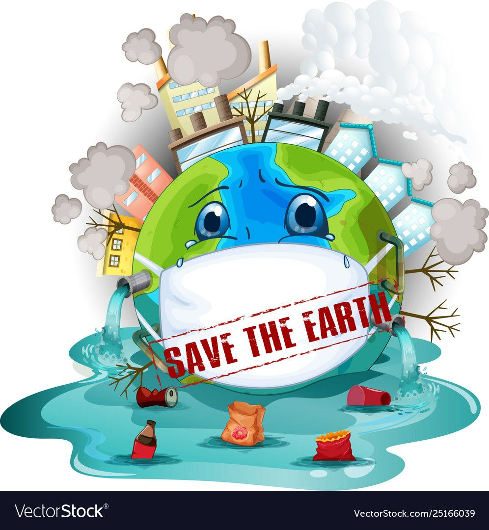 Save Earth Icon Vector Image On Vectorstock Earth Drawings Save Earth Save Earth Posters