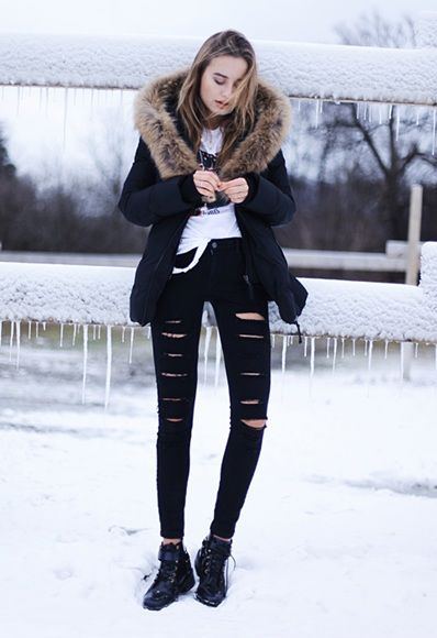 Sonya Esman shares with us her snow day style goals