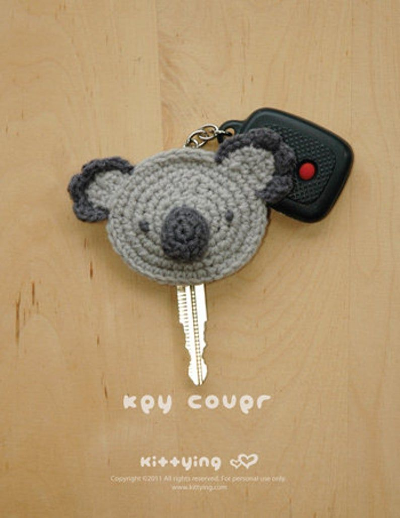 Koala Amigurumi Key Chain | Crochet Key Ring | Handmade | Gift ... | 1028x794