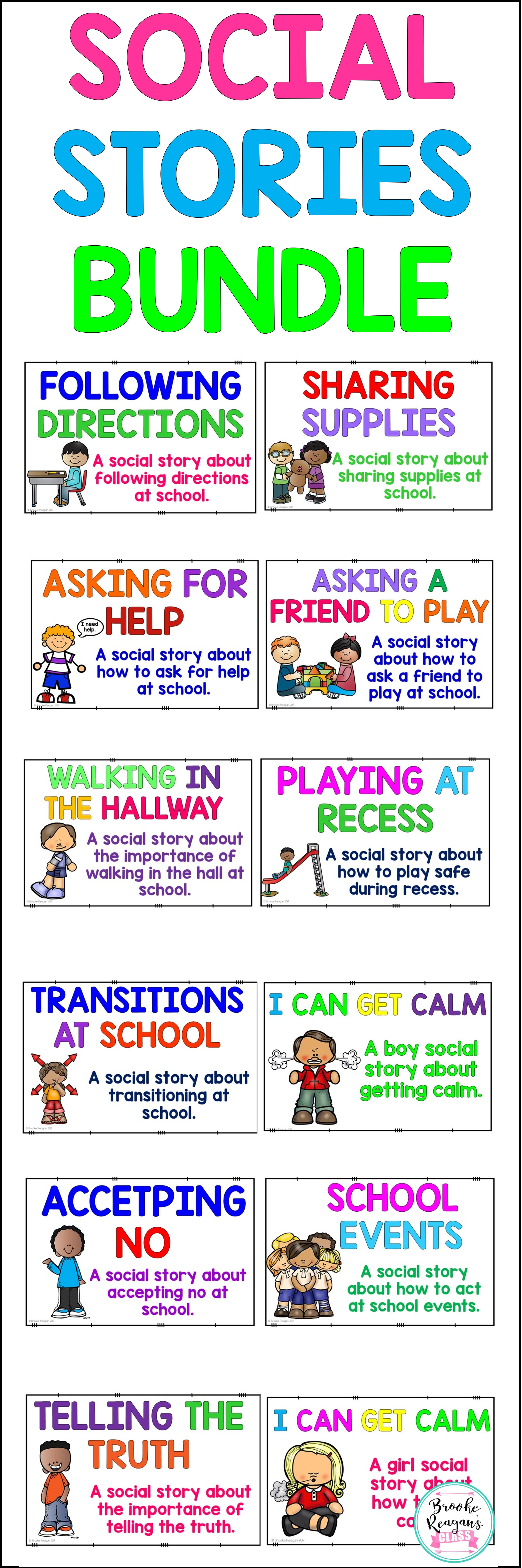Social Stories Pack 12 Social Stories