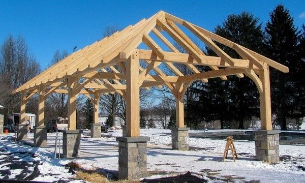 How To Build A Basic Pavillion Google Search Outdoor Pavilion Outdoor Pavillion Gazebo Plans