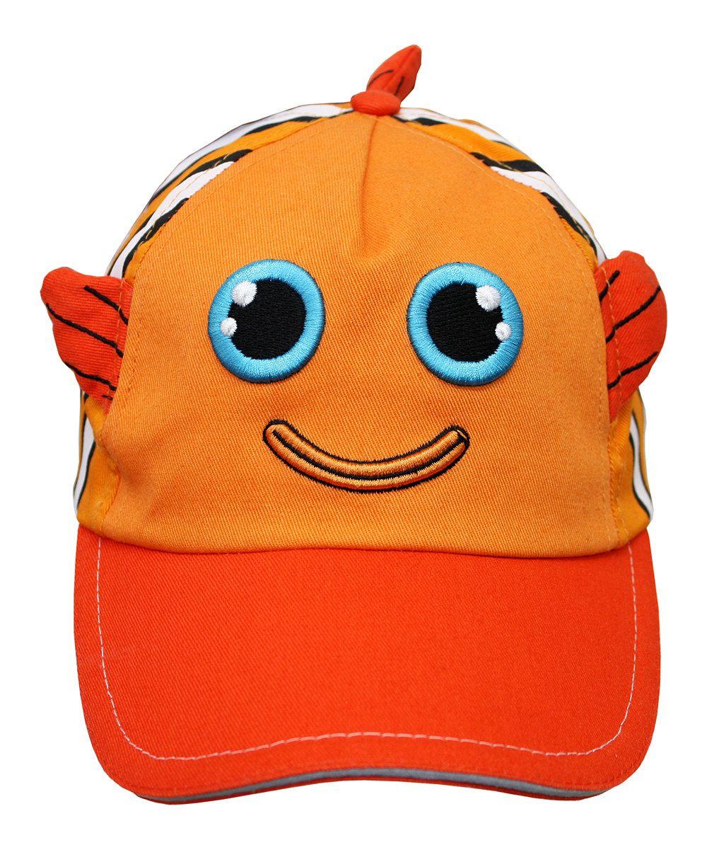 Orange Cody Clownfish Baseball Cap Clown Fish Animal Hats Baseball Cap [ 1201 x 1000 Pixel ]