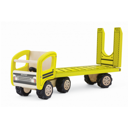 The Toy Centre is a UK retailer of traditional toys, wooden toys and retro toys. Order your Pintoy Low Loader securely online today.