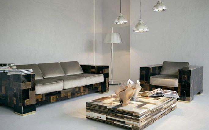 Wohnzimmereinrichtung Von Piet Hein Eek