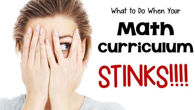 What to Do When Your Math Curriculum STINKS - First Grade Bangs