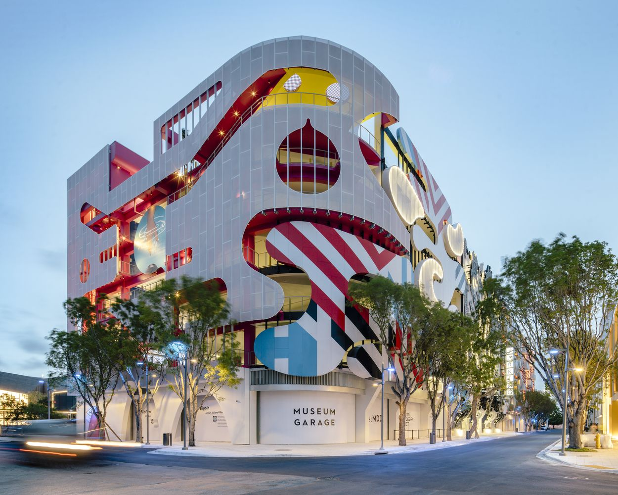 Gallery Of Miami Museum Garage Workac Nicolas Buffe Clavel Arquitectos K R And J Mayer H 14 Architecture Artist Loft Modern Garage