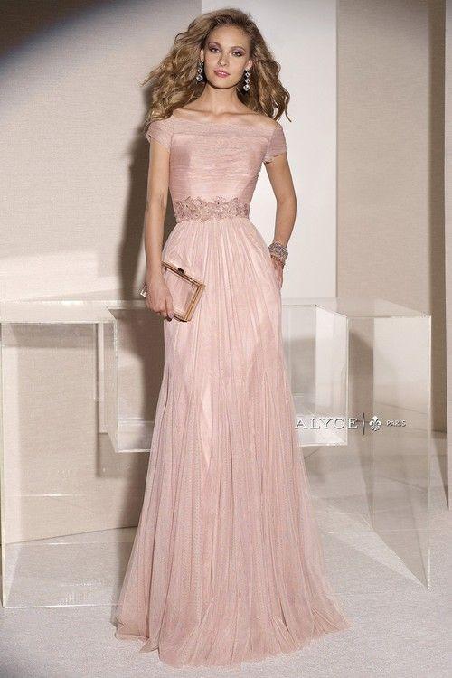 Alyce Paris Mother of the Bride - 29747 Dress in Rose Cloud