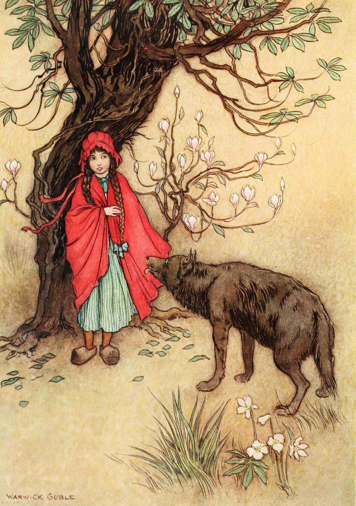 Warwick Goble - Red Riding Hood