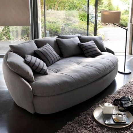 Round Shaped Couches
