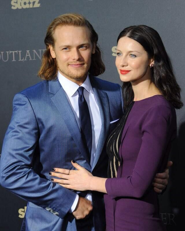 M on | Outlander~~Cait and Sam in 2019 | Sam heughan