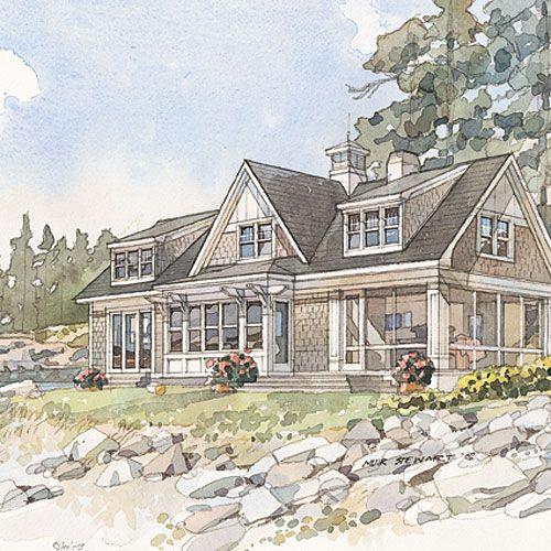 Building · Top 10 House Plans   Coastal Living