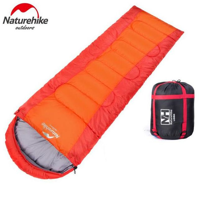 NatureHike Summer Cotton Sleeping Bag Multifuntion Portable Adult Splicing Single Sleeping Bag Hybrid Type Camping Equipment
