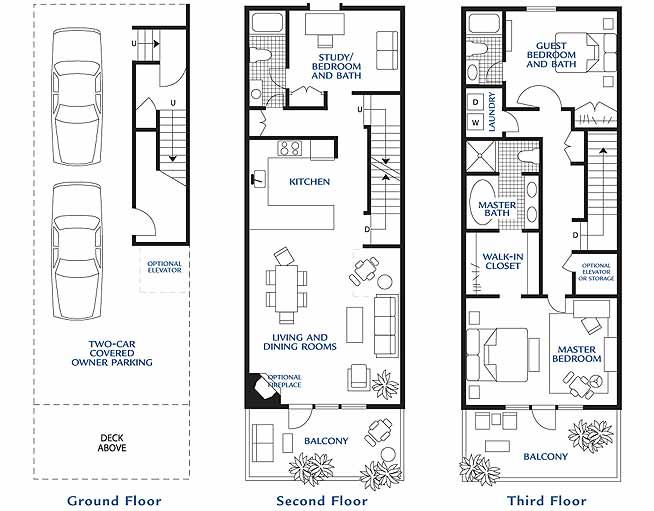 Town Home Plans
