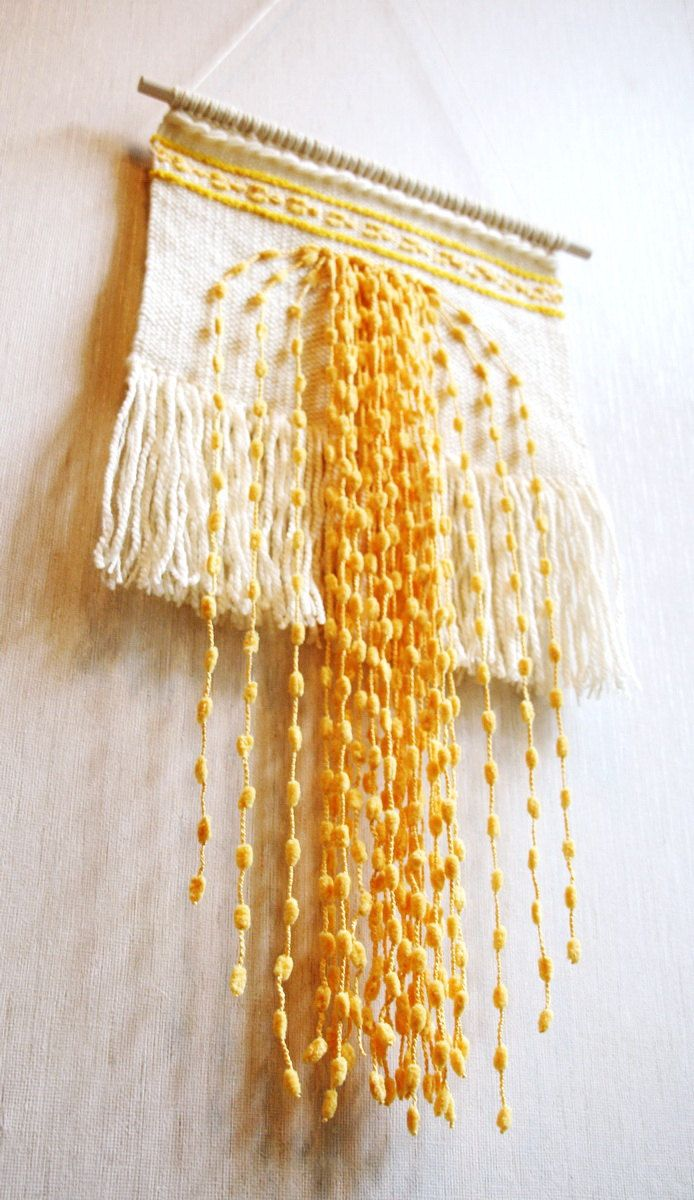 Weaving wall hanging woven wall hanging, handwoven wall hanging ...