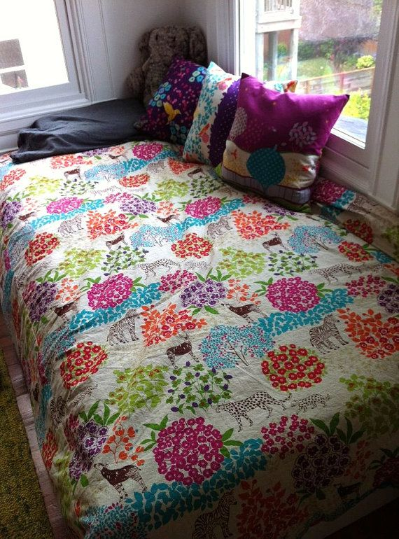 CUSTOM Duvet Cover for Twin Bed Toddler Bed or Day by
