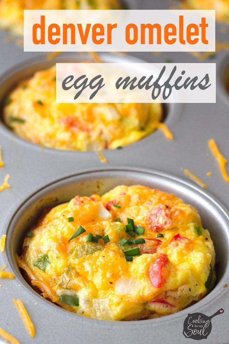 Denver omelet muffins recipe breakfast brunch recipes