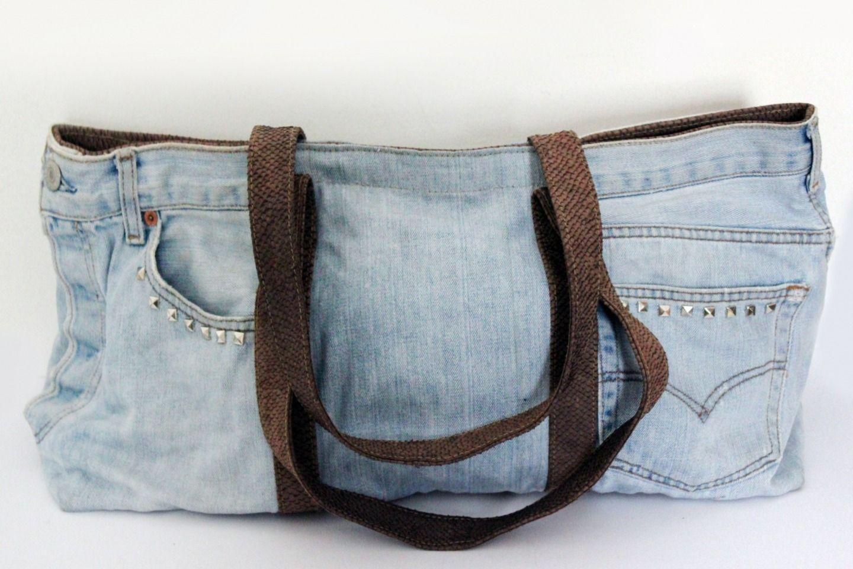 DENIM - Denim trousers Borsa 5LoVAI