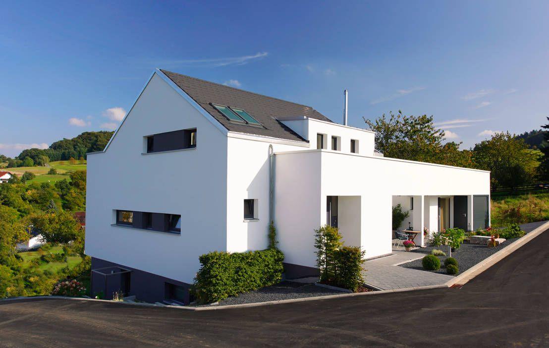 Hausbau am Hang   Pinterest   Herausforderungen, Einfamilienhaus und ...