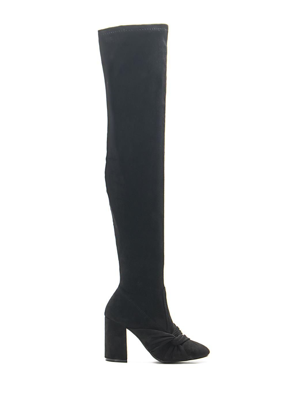 829088139b Μπότες Over the Knee-Μαύρο - ΓΥΝΑΙΚΕΙΑ ΠΑΠΟΥΤΣΙΑ - LUIGI FOOTWEAR ...