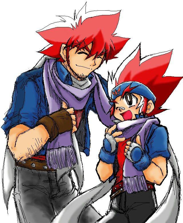 Ryô and gingka Beyblade characters, Cartoon, Anime