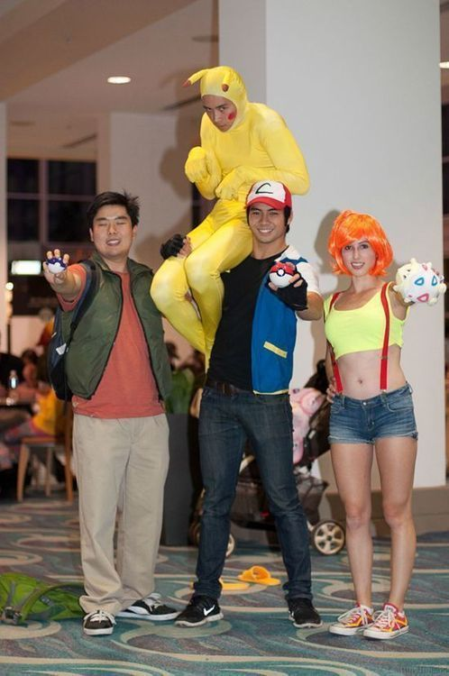 Pokemon Cosplay done kind of right  http://best-of-imgur.tumblr.com  #cosplay