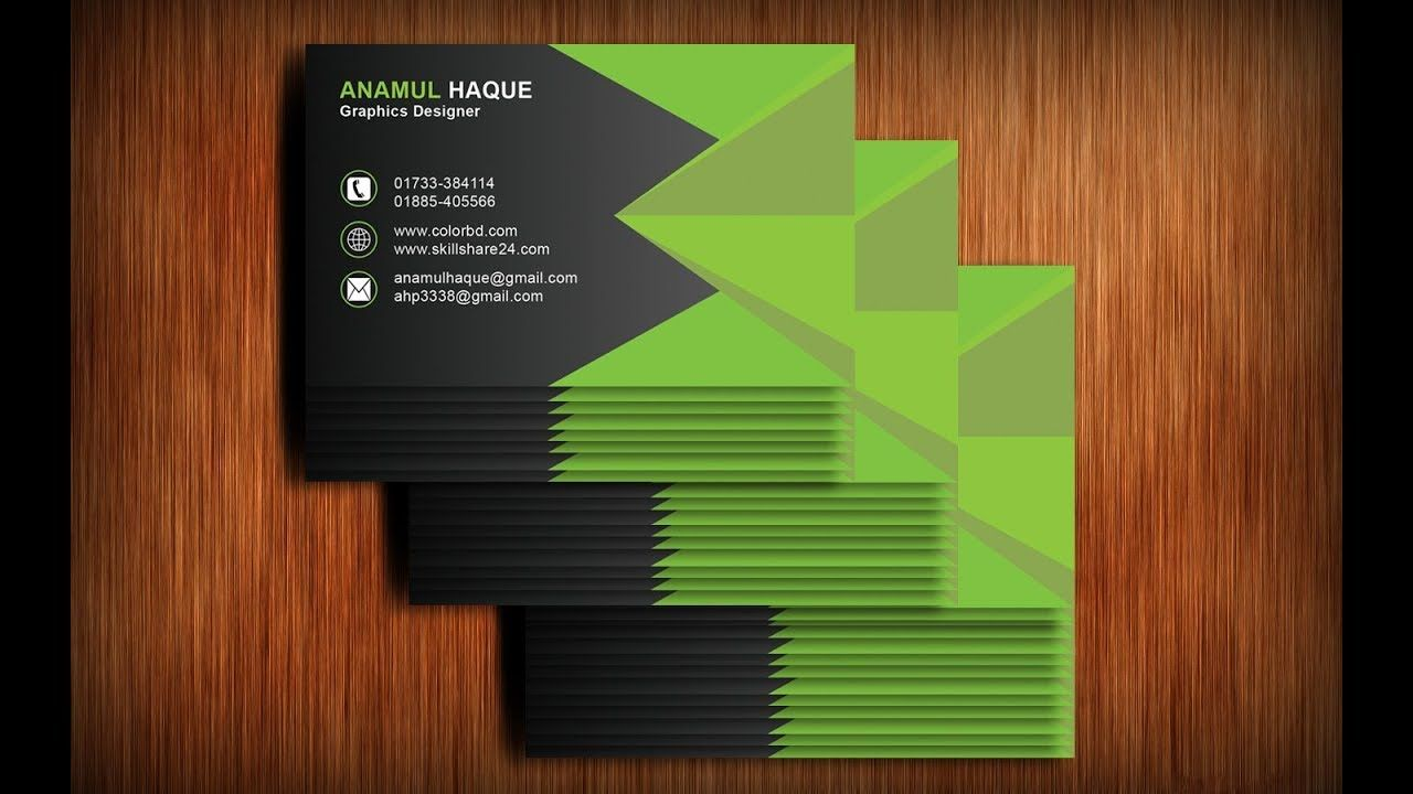 Business card design in photoshop cs6 anamul haque pinterest business card design in photoshop cs6 reheart Image collections