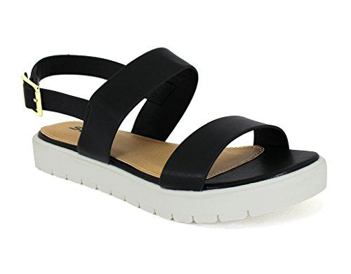 eaaae8573 Soda Womens Juniper Black Synthetic Sandals 9 BM US -- See this great  product.(This is an Amazon affiliate link and I receive a commission for  the sales)   ...