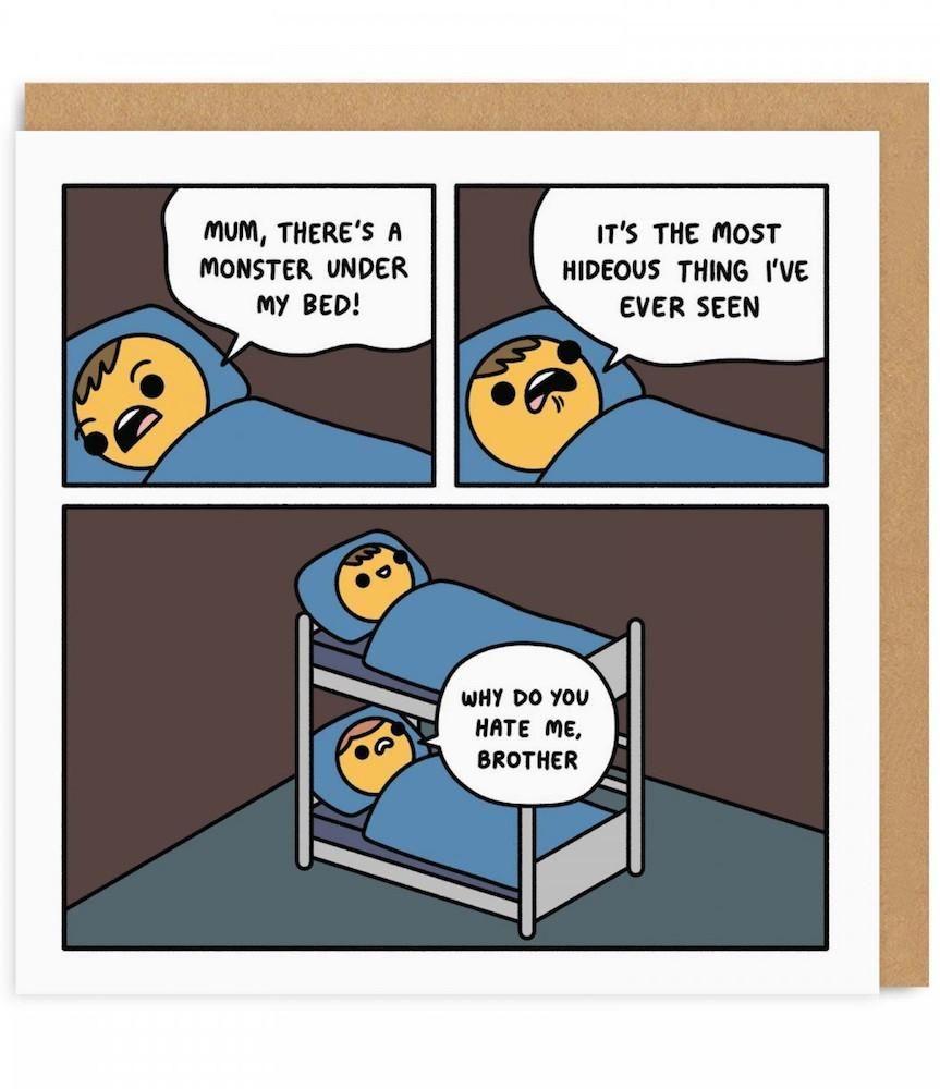 Monster Bunk Bed Card Bunk Beds Kids Frames Cartoon Pics