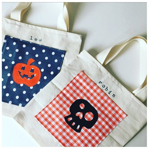 Halloween Bucket, Trick-or-Treat Bag, Trick-or-Treat Ideas - halloween candy treat ideas