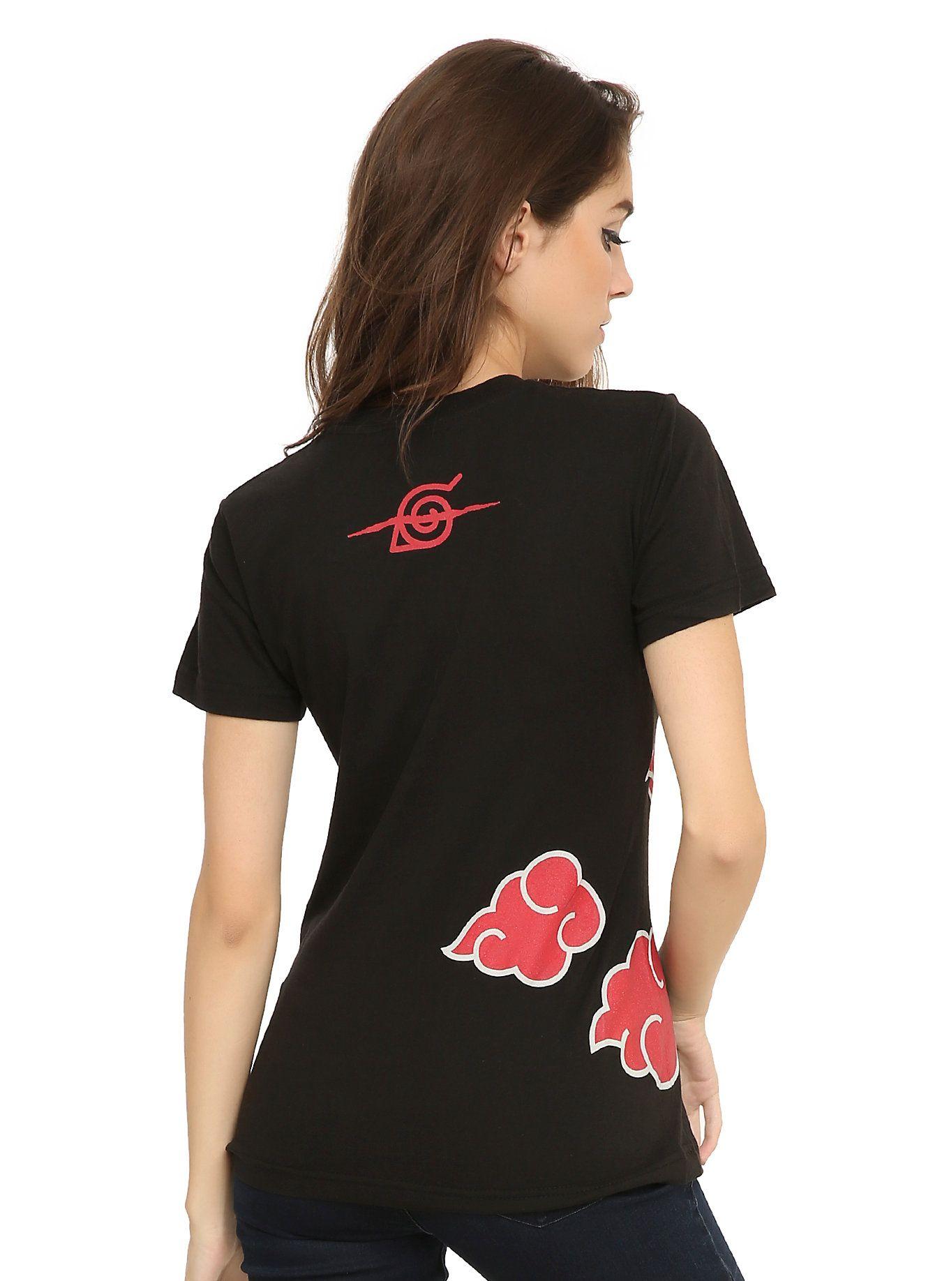 abd08340c Naruto Shippuden Itachi Clouds Girls T-Shirt | Hot Topic | Graphic ...