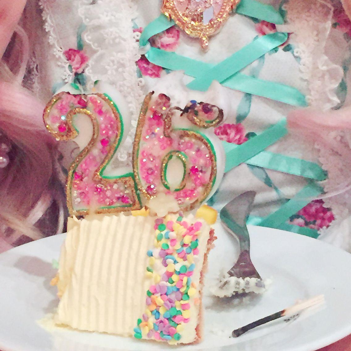 Crystal deco rhinestone birthday candles