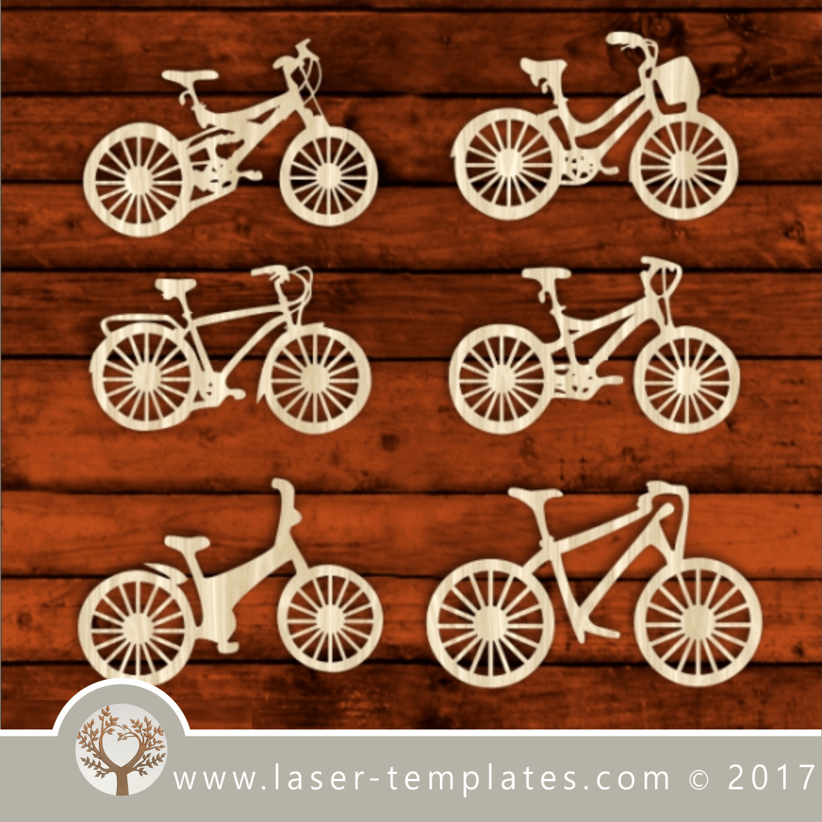 0a9adf614b Classic bike, bicycle laser cut template, pattern, design. Free vector  download every day. Bicycles bikes