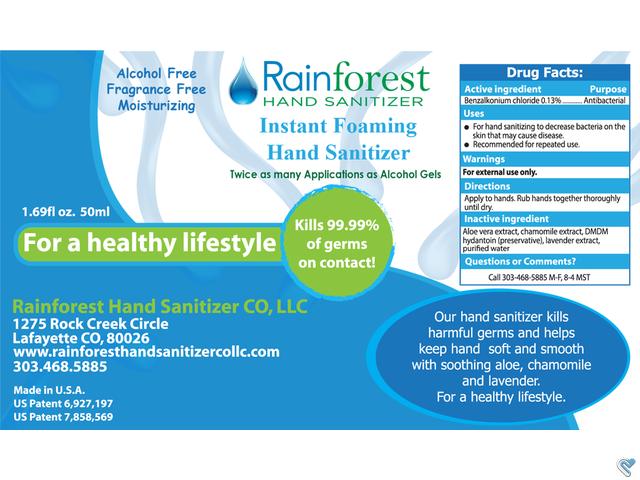 Rainforest Hand Sanitizer Label Rainforest Hand Sanitizer Label Client Winner Rainforest Testimonial Hand Sanitizer Contest Design Sanitizer
