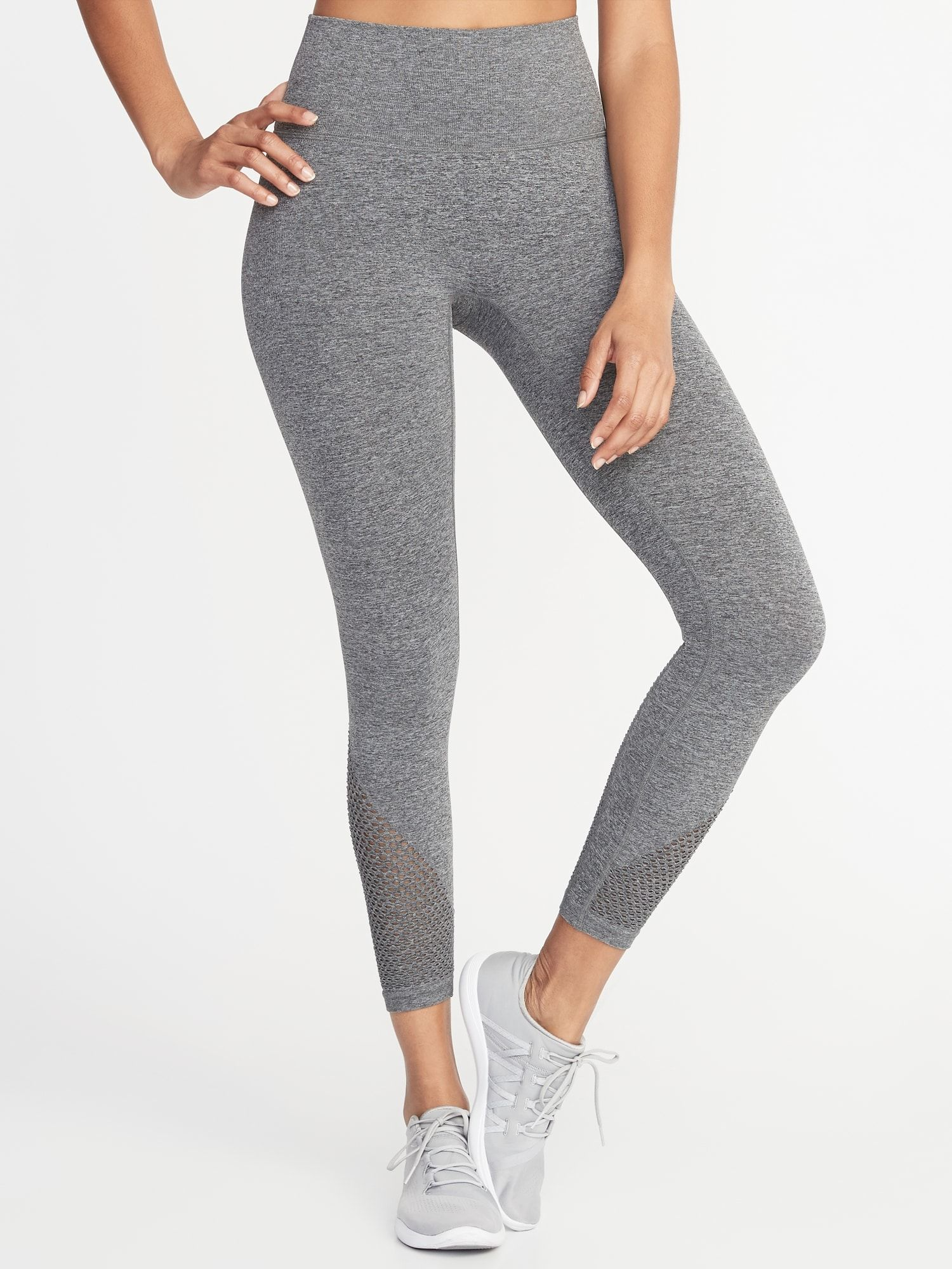 220bb4098fc26 $35 on sale   small   gray Women's Leggings, Mesh, Cute Outfits, Pants