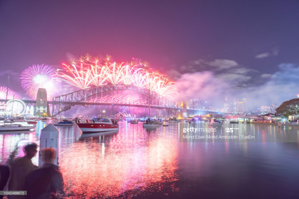 Photo Taken In Sydney, Australia in 2020 New years eve
