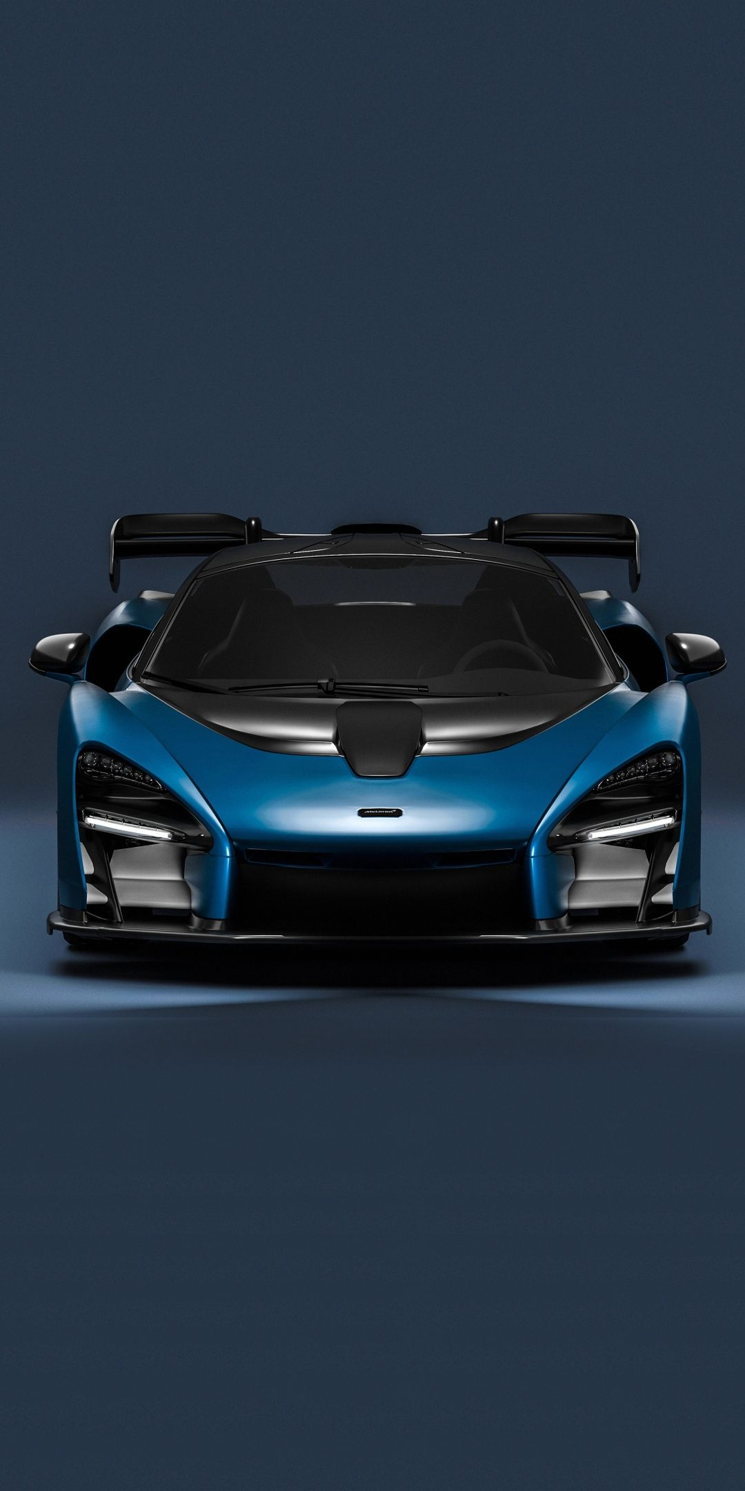 Sports Car Mclaren Senna Blue 2018 1080x2160 Wallpaper Sports Car Super Luxury Cars Sports Cars Luxury