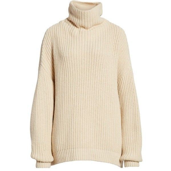 Womens Free People Swim Too Deep Turtleneck Sweater 65 Liked