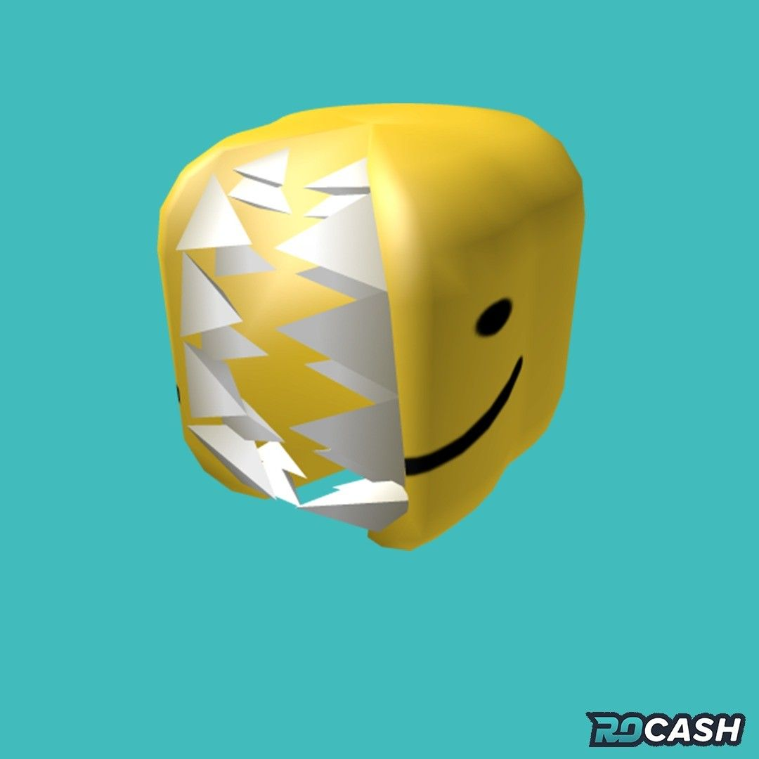 Want To Get The Totally Normal Noob Head For Free You Can Earn Robux On Rocash And Withdraw Directly To Your Roblox Account Clic In 2020 Roblox Bicycle Helmet Helmet
