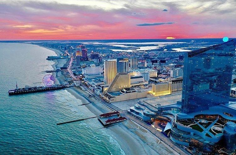 Atlantic City Nightlife Ac Nj On Instagram What A Sunset We Had Tonight Photo Credit Panahphotos Atlantic Atlantic City Nightlife Atlantic City Night Life