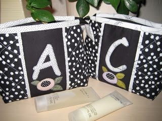 letter A & C