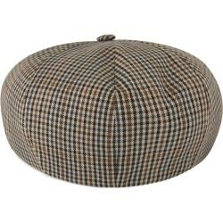 Photo of Spicchi Hahnentrittmuster Newsboy Cap