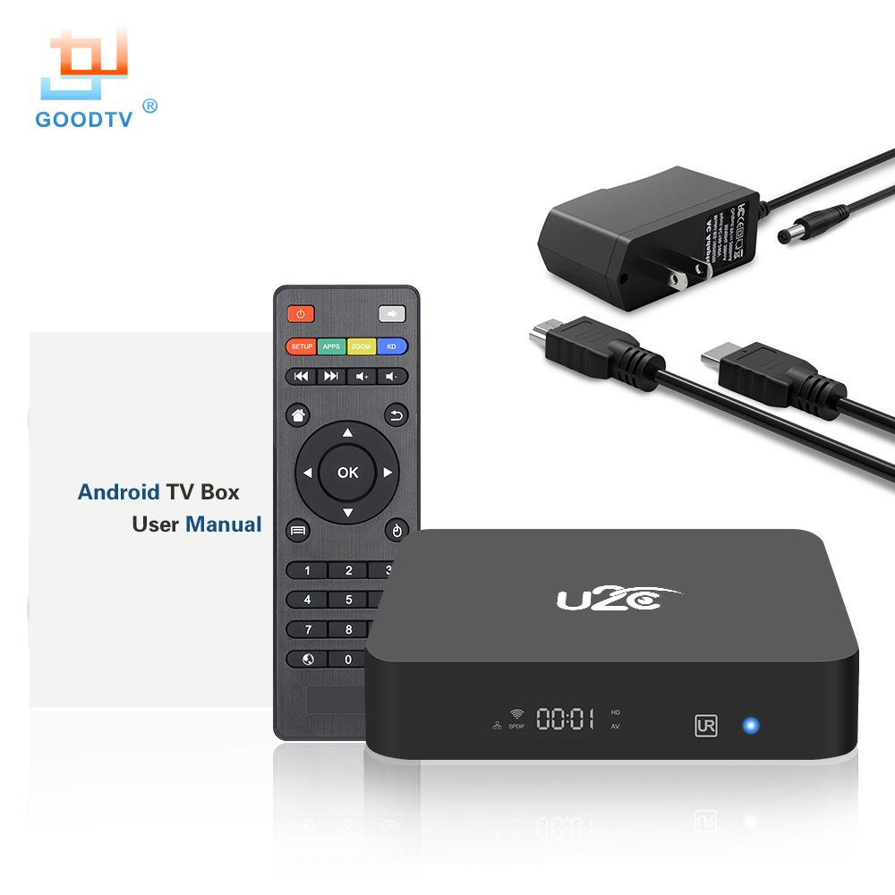 GOODTV Z Pro Smart TV Box Android 7.1 Amlogic S905X Octa