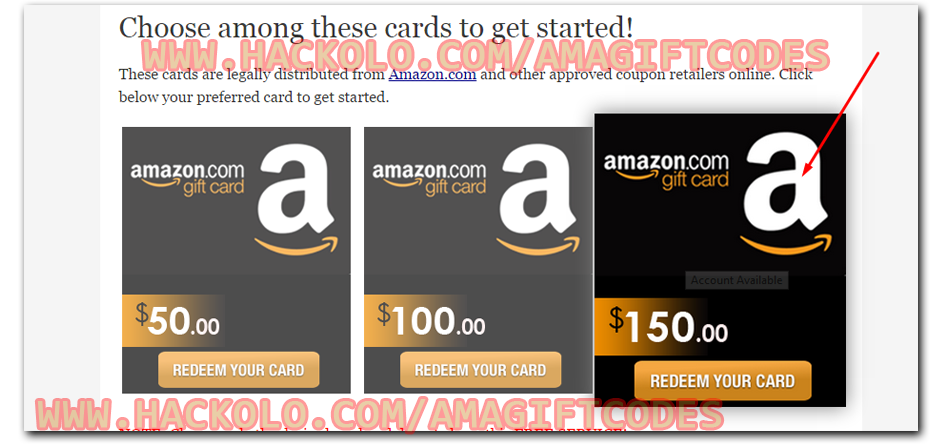 Get Free Amazon Gift Card Codes - No Software Needed | Cupons ...