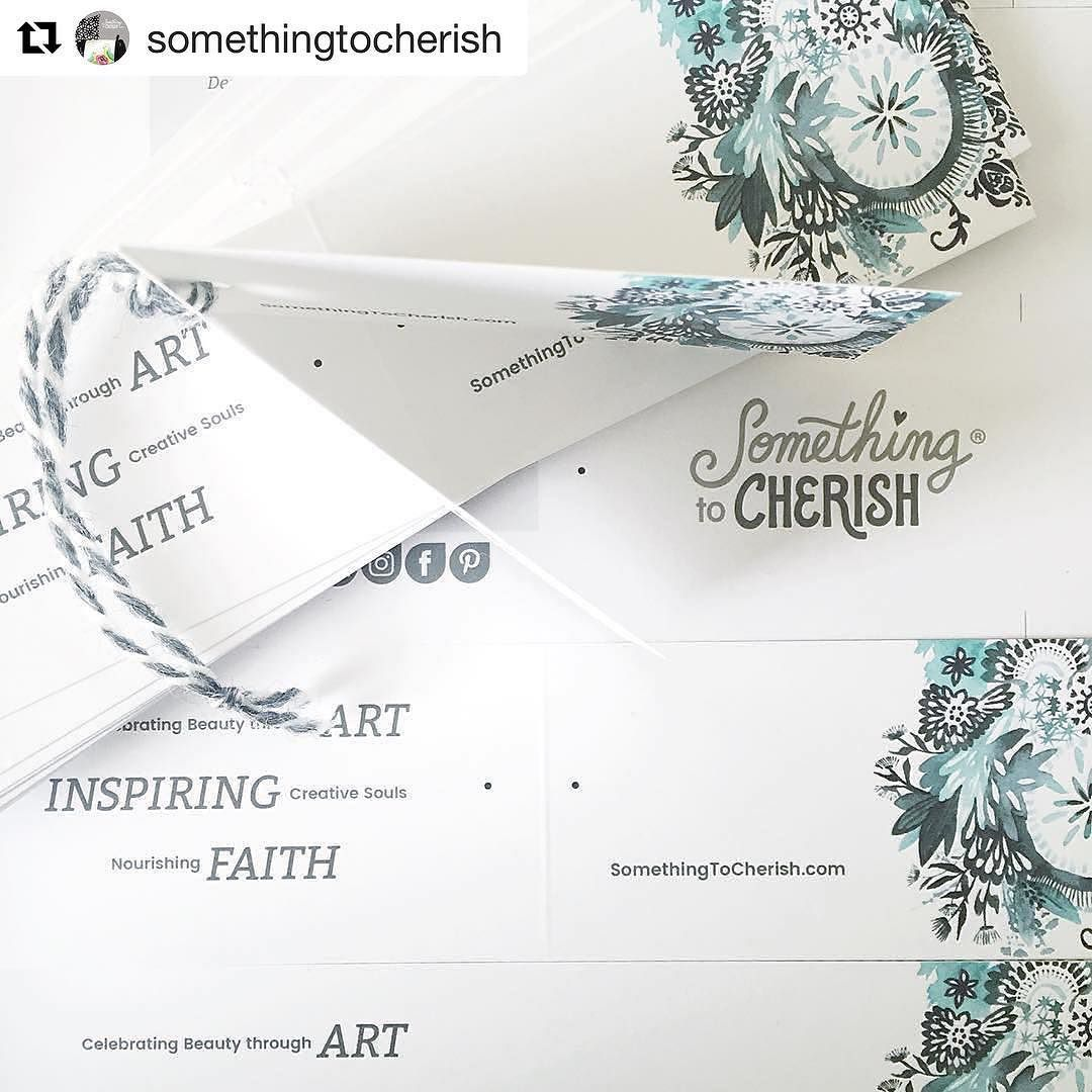 #Repost @somethingtocherish with @repostapp  #Repost @cherishart  My hang tags are in and getting ready for their debut at Pottery Barn this Sat! So excited to have this opportunity to share my art in a new way on pillow covers tea towels cards art prints and a bunch of other fun things. Thank you @potterybarn_parkmeadows  for making this dream a reality! #somethingtocherish #potterybarn #cherishflieder (If you are in the #Colorado area come down and say hello details on the blog.)