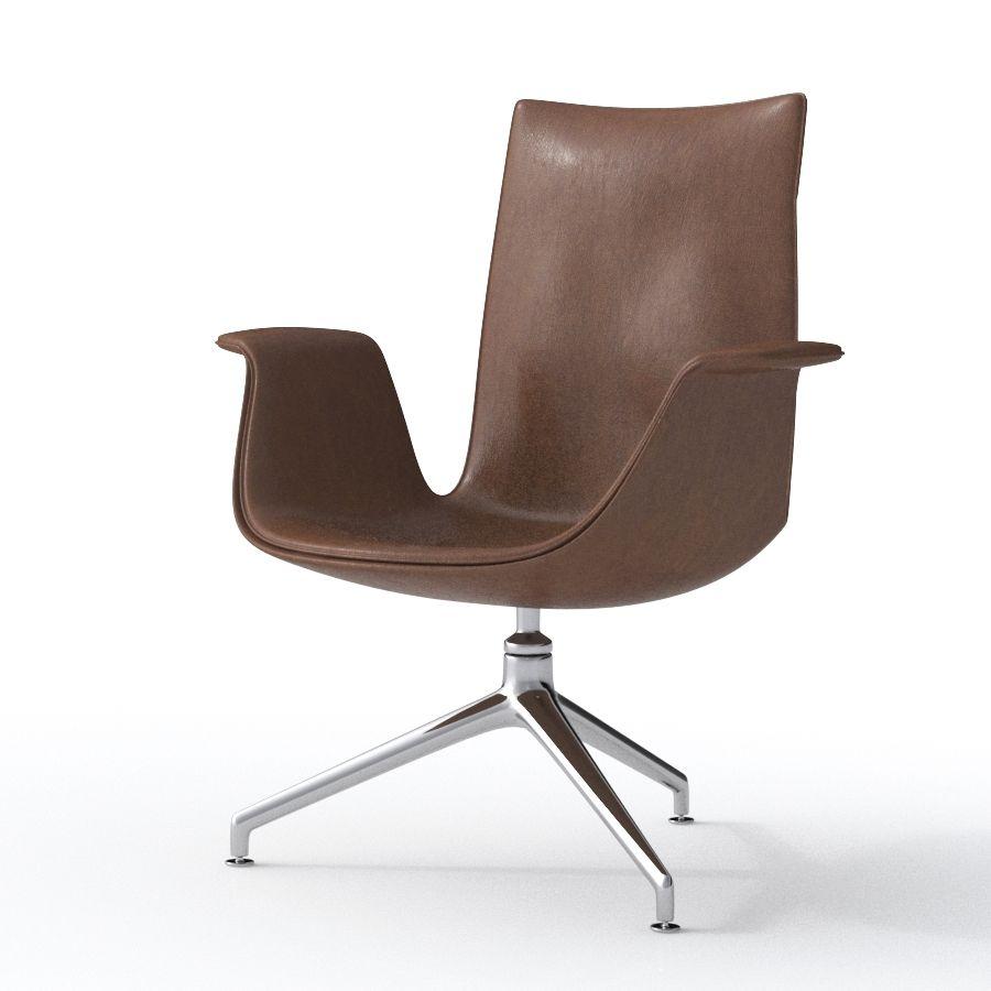 Walter Knoll Fk Bucket Lounge Chair 0