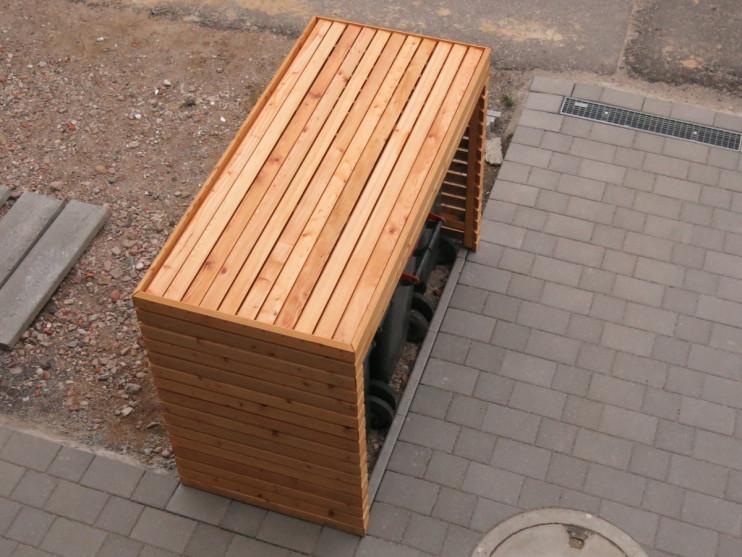 Geschütztes Blog › Anmelden Mülltonnenbox, Mülltonnenbox