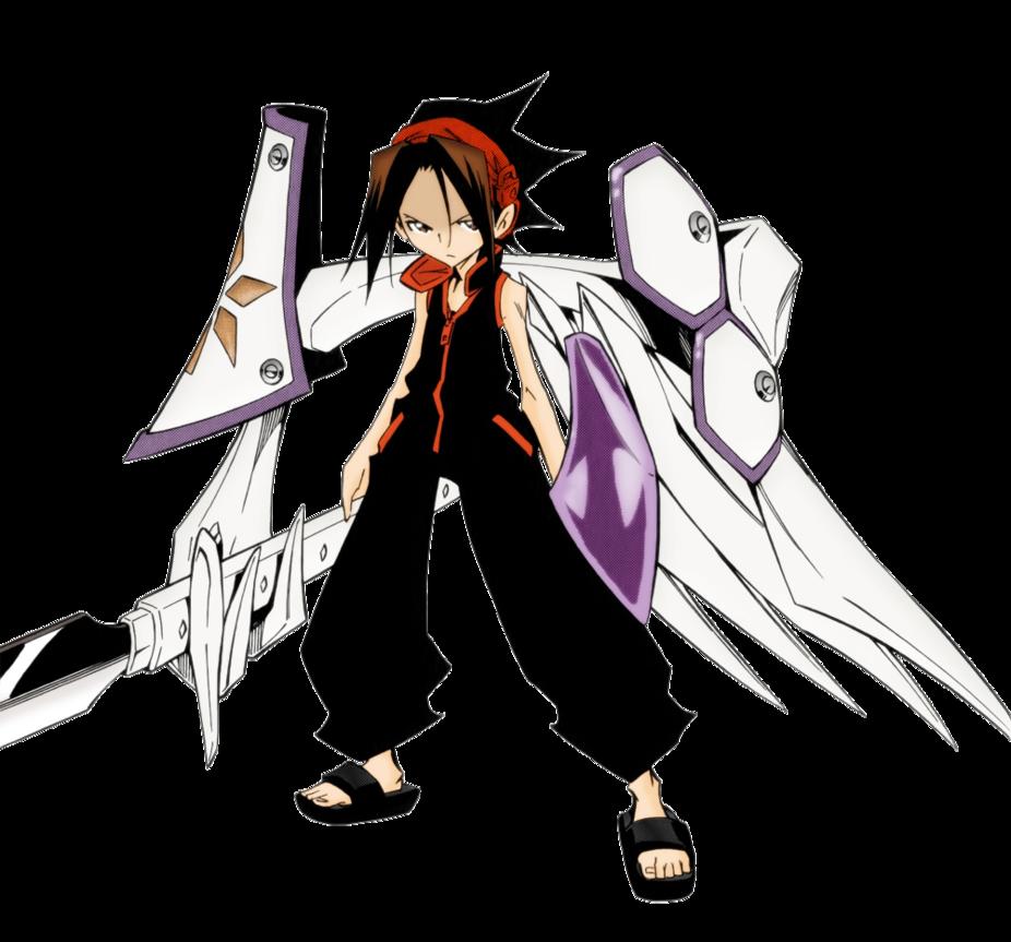Manga Shaman King Lineart Hiroyuki Takei Color Asahi88 Characters Yoh Asakura Remix Tracks 13 Page 04 Shaman King C Hiroyuki T Shaman King Shaman Asakura