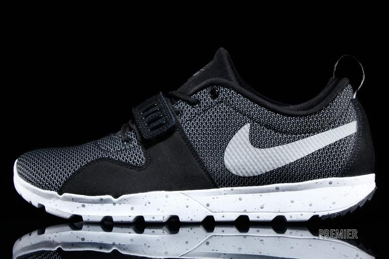 buy online a48f9 a3b6c Nike SB Trainerendor Style     616575-010 Color   Black   White - Metallic  Silver