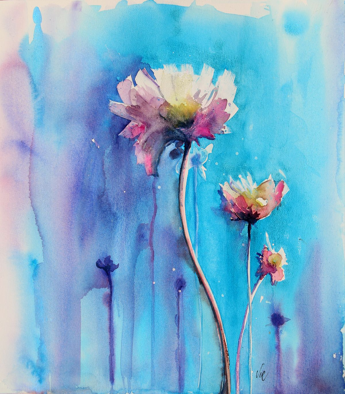 Epingle Sur Watercolour